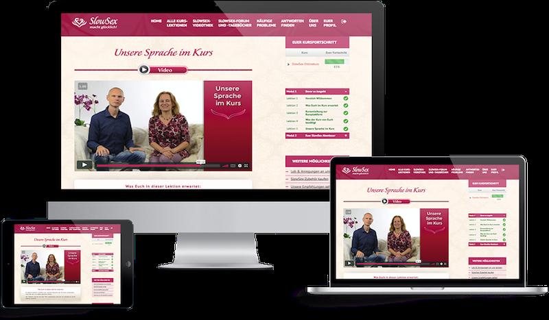 SlowSex Onlinekurs Medien
